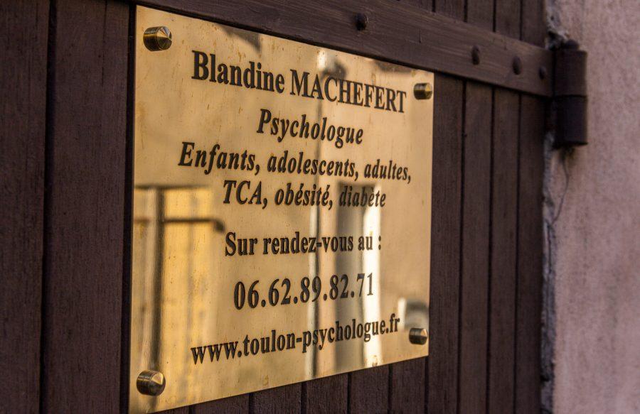 rendez-vous Blandine MACHEFERT Psychologue